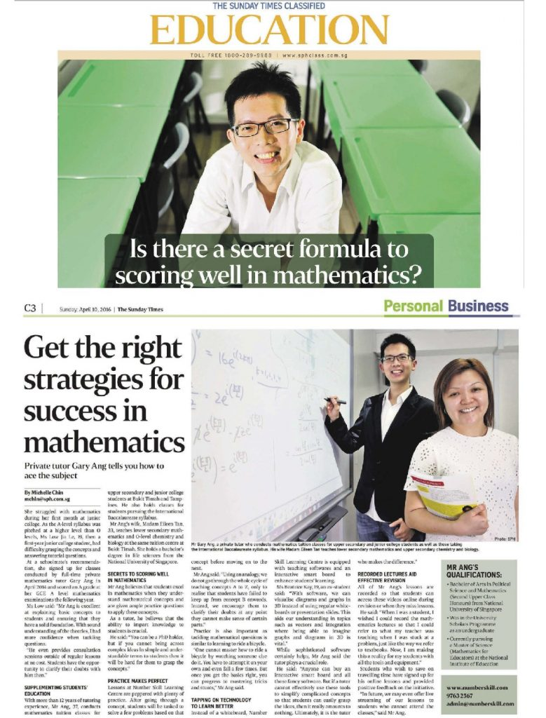 2016 0410 Sunday Times Feature web